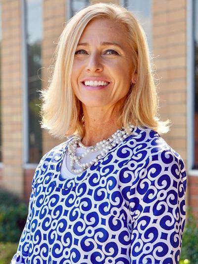 Jennifer White, the math specialist for Floyd County Schools mug