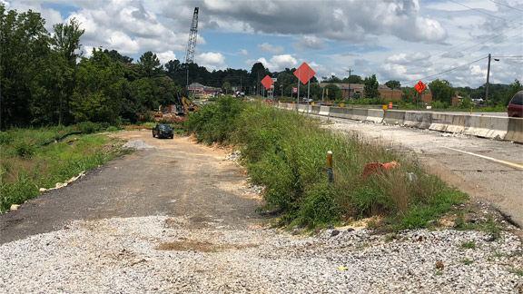 Ga. Highway 151 widening project