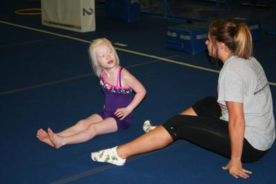 Discovery Gymnastics helps special needs children gain athletic skills