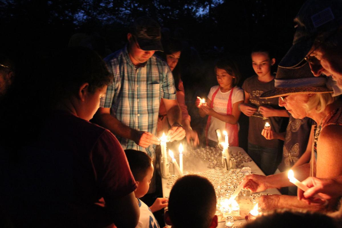 Rock Garden sixth annual lighting ceremony
