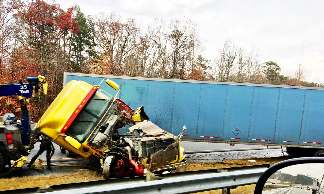 Injury reported in accident that shut down I-75 north for hours on Tuesday