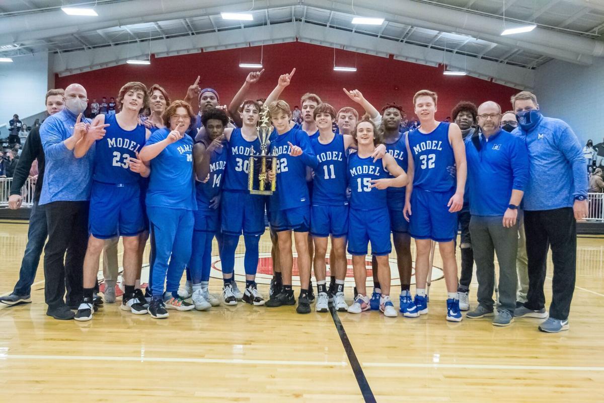 Model Basketball 2020-21 Region 7-AA Champions