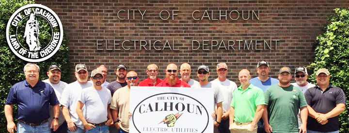 City of Calhoun Electrical Department recognized for reliability by APPA