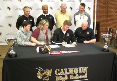 Calhoun's Zeke Nance signs with Lenoir-Rhyne