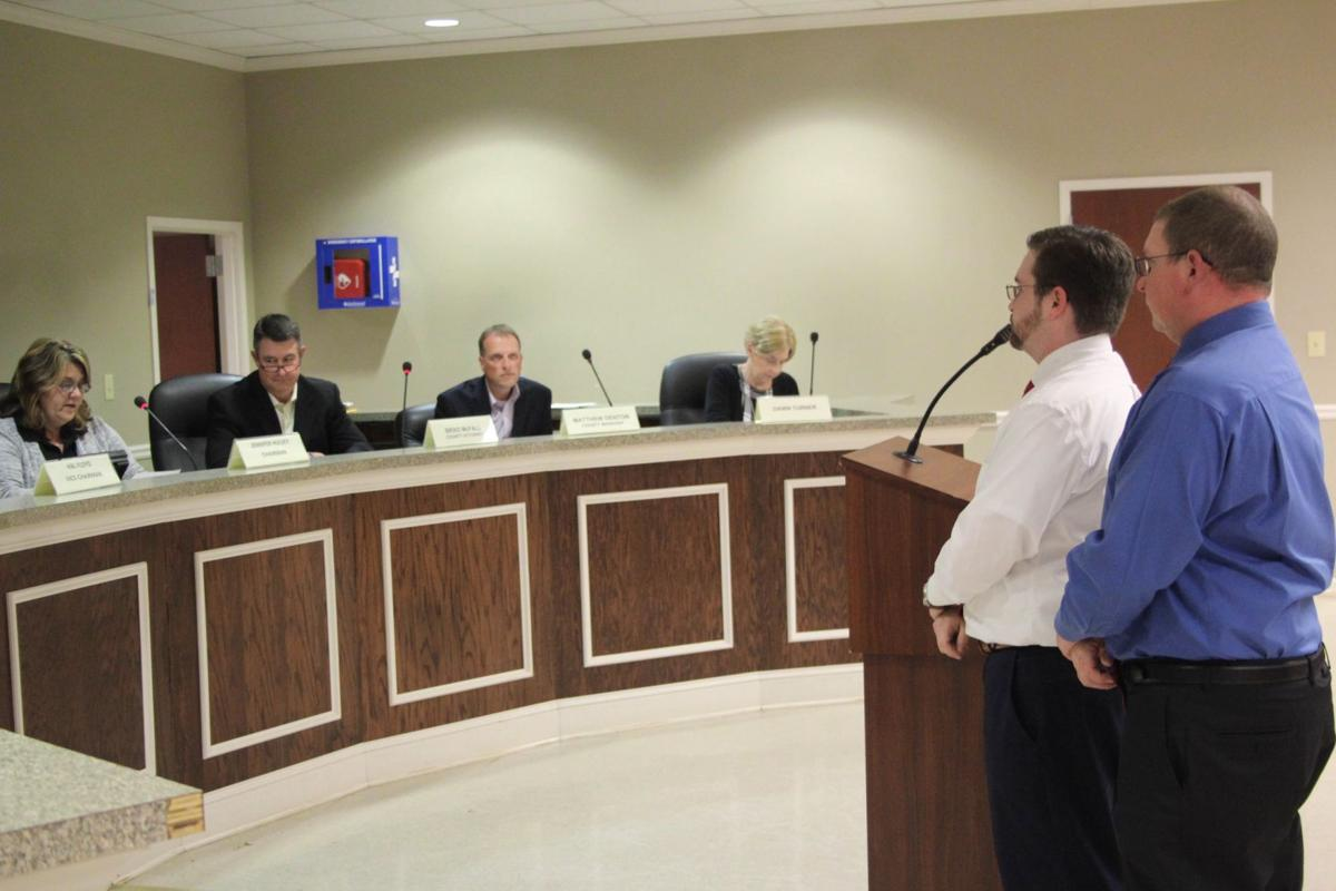 Branch honored by Polk County Commission for service