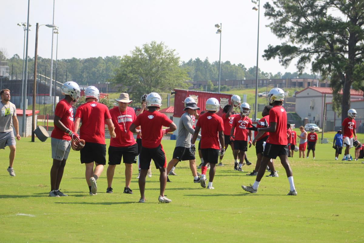 Cedartown hosts 7-on-7 camp with Haralson