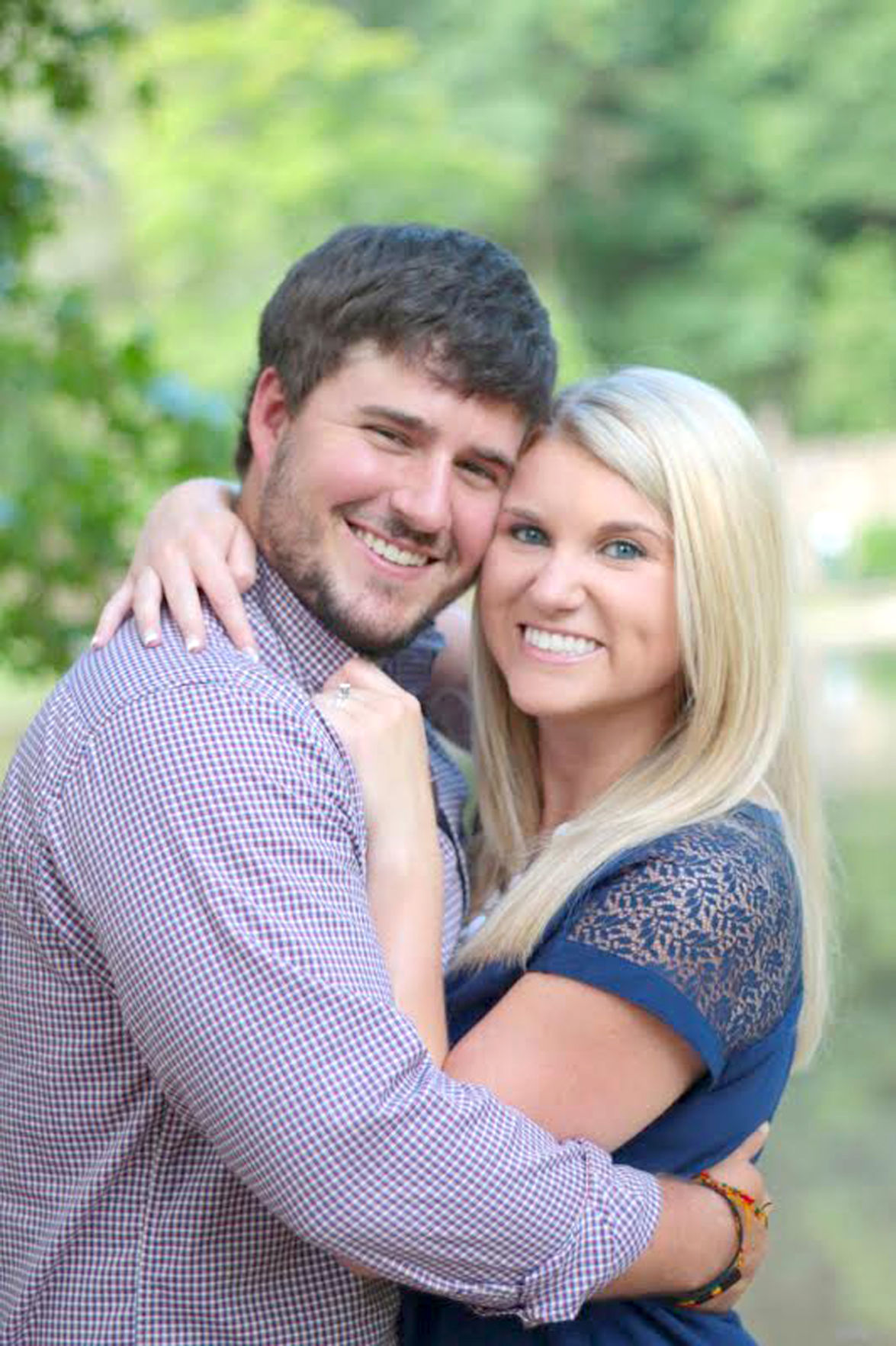 Sarah Kelley and Tyler Buice