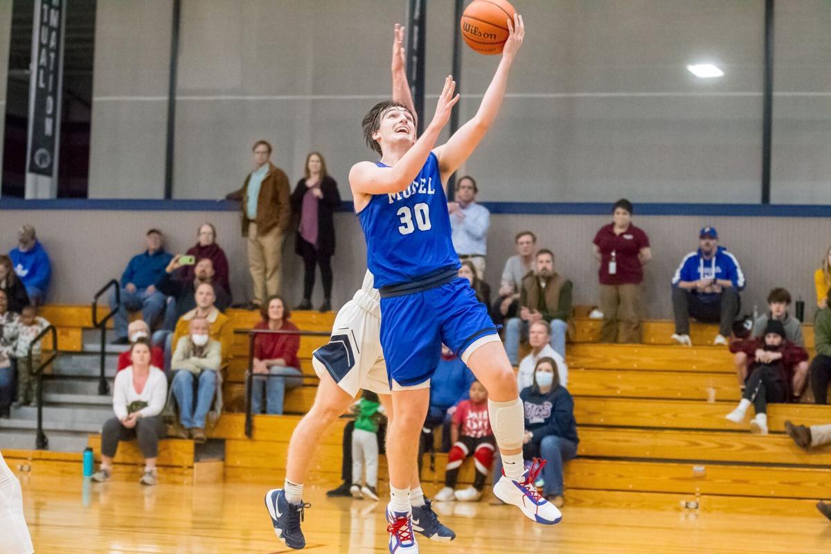 Model's Dan Fisher vs. Unity Basketball