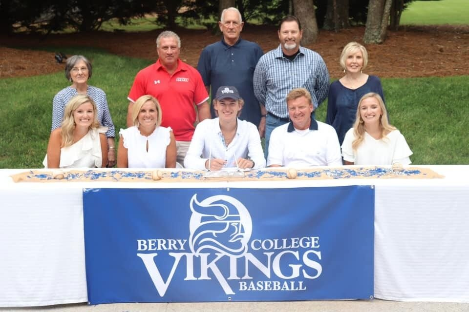 Brady Drummond signs with Berry College