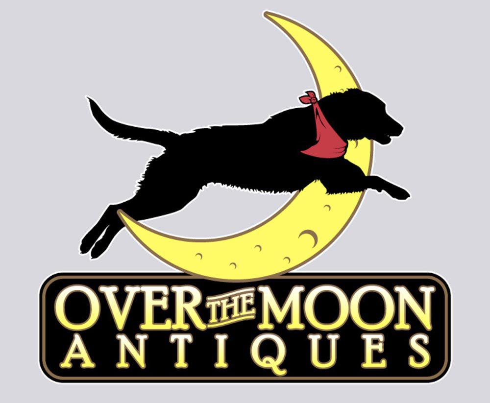 Over the Moon Antiques logo