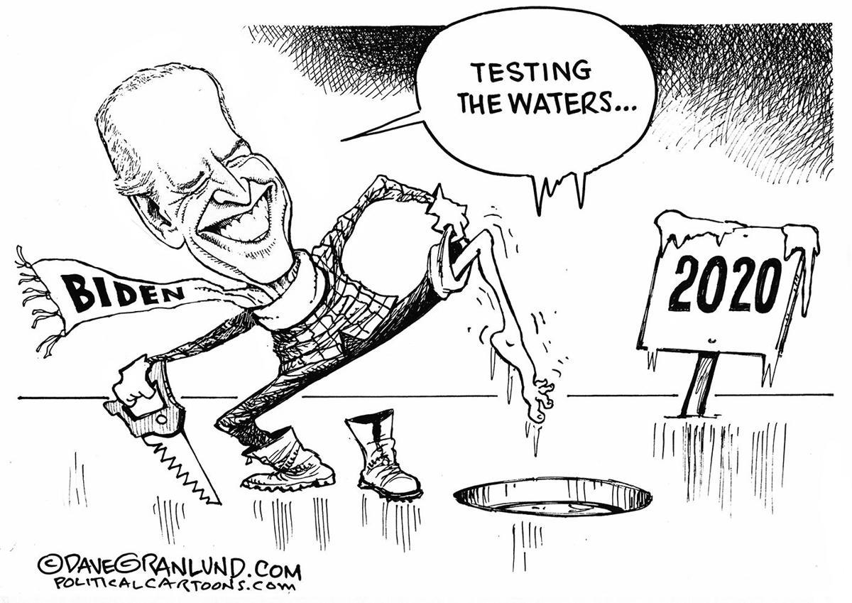 Biden testing waters