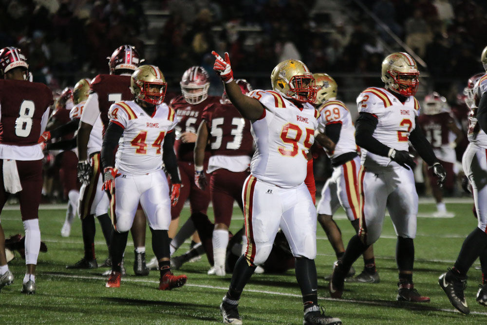 Rome beats Warner Robins 38-0 to win Class 5A state championship