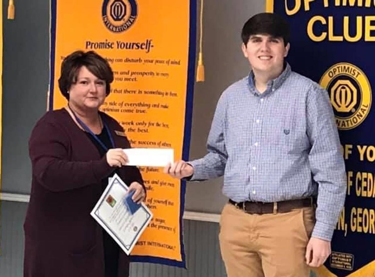 RHS senior wins Optimist essay contest