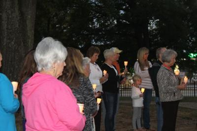 Domestic Violence vigil