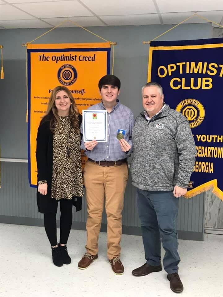 Rockmart High student wins Cedartown Optimist essay contest