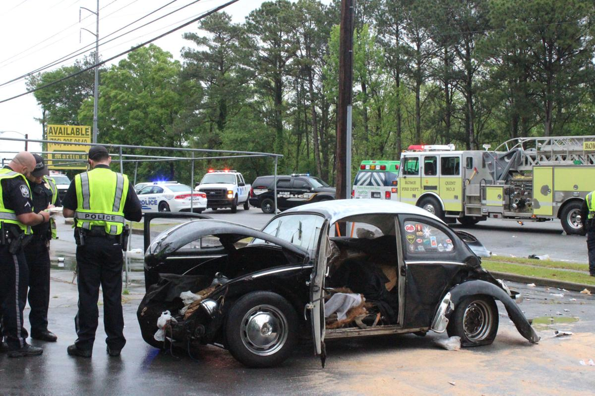 One injured in wreck on Cooper Drive