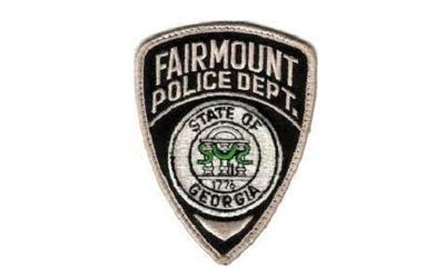 Fairmount Police Department Patch Logo STOCK