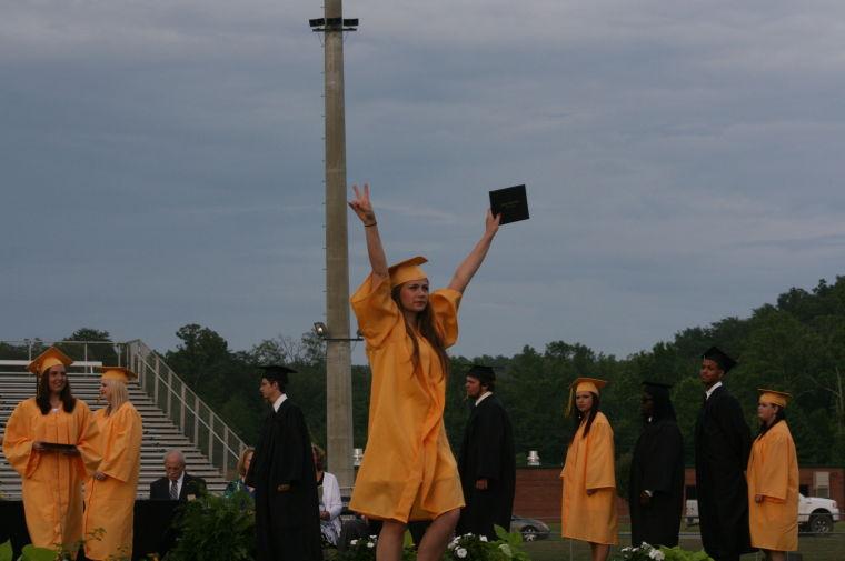 Rockmart High School graduation 2014