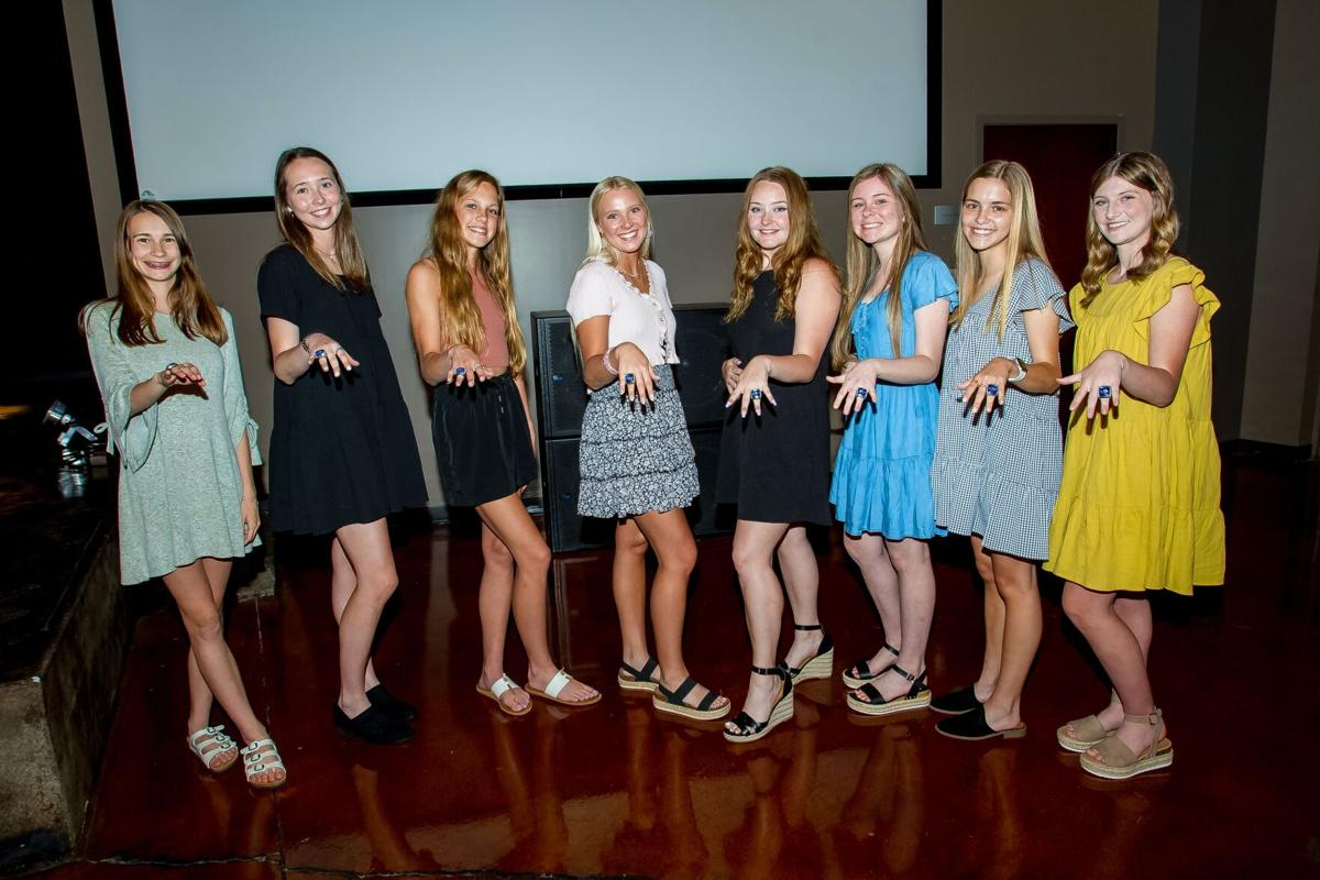 Armuchee Lady Indians 2020 State Championship rings presentation