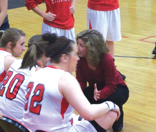 Sonoraville coach Stephanie Caudell
