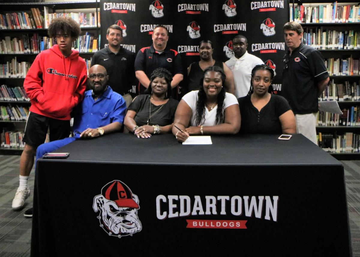 Tamera Beeman signs with CCBC