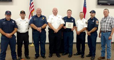 Ferrell finishes firefighter training in Cedartown