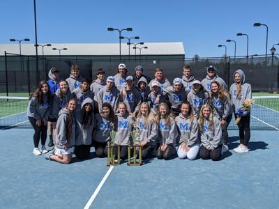2021 Region 7-AA Champions Model tennis