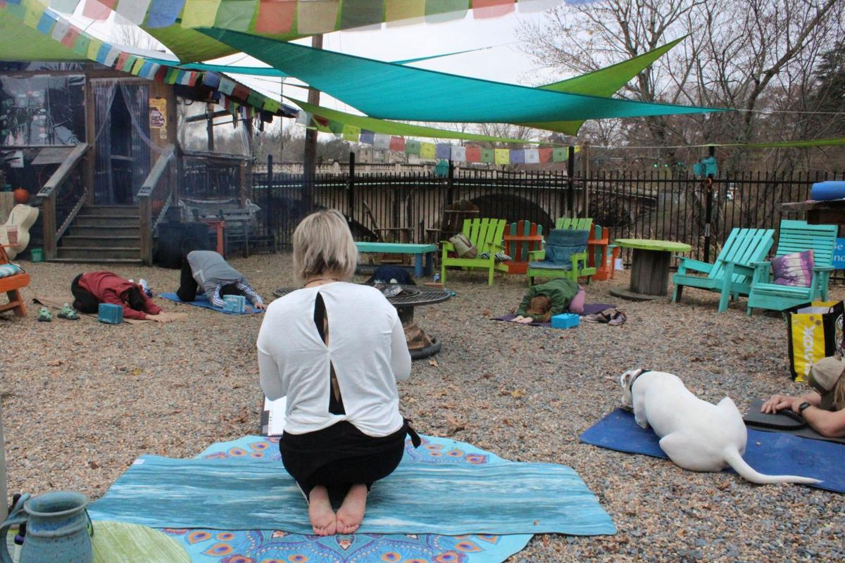 River Dog Outpost hosts yoga on Saturdays