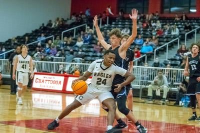 Coosa's Jaquze Morgan vs. Fannin County - Region 7-AA Boys Basketball Tournament