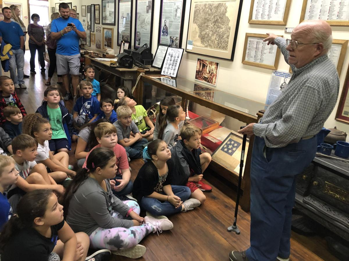 Students learn local history