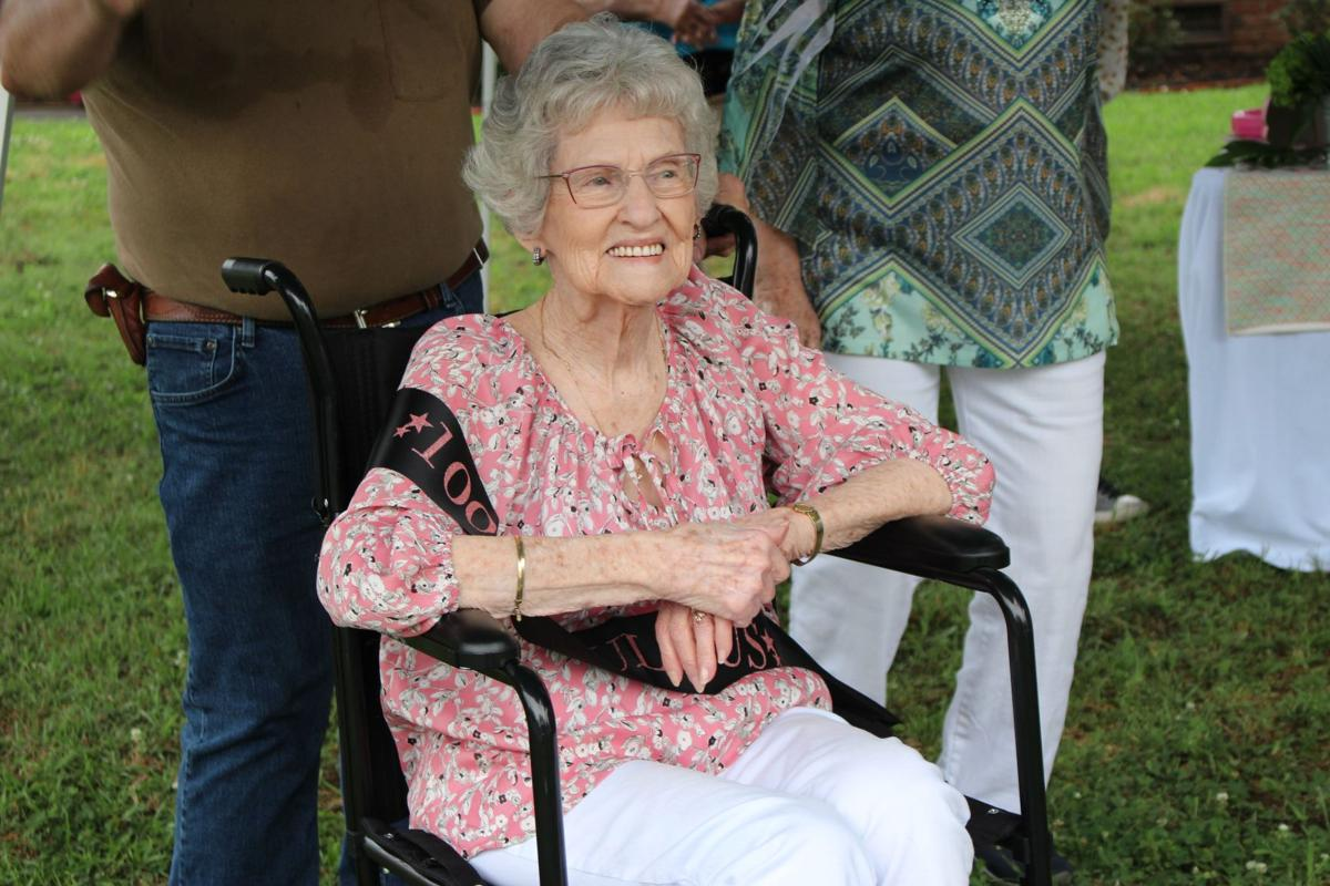 Birthday parade surprises 100-year-old Rome Native and former Possum Trot student
