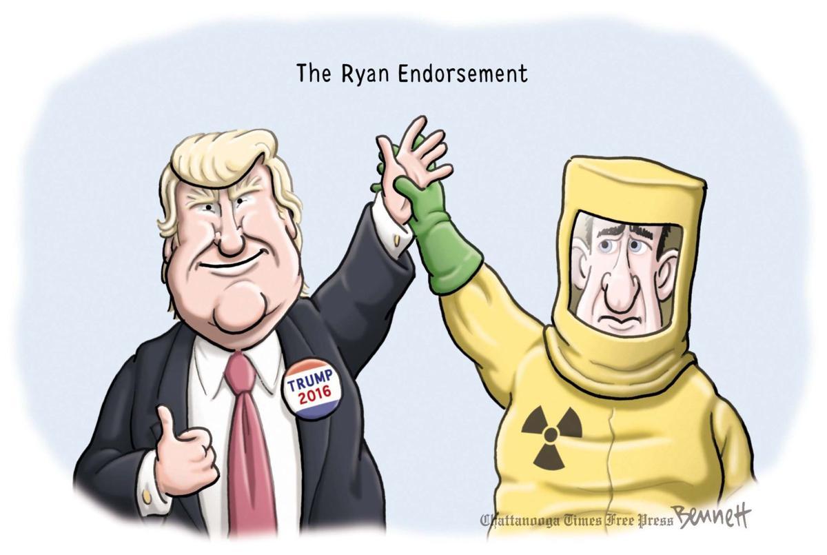 cartoon endorsement
