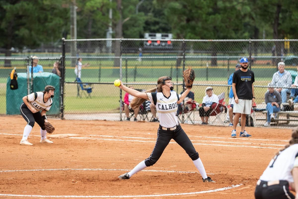 Calhoun Softball - 2019 State Tournament Maggie McBrayer