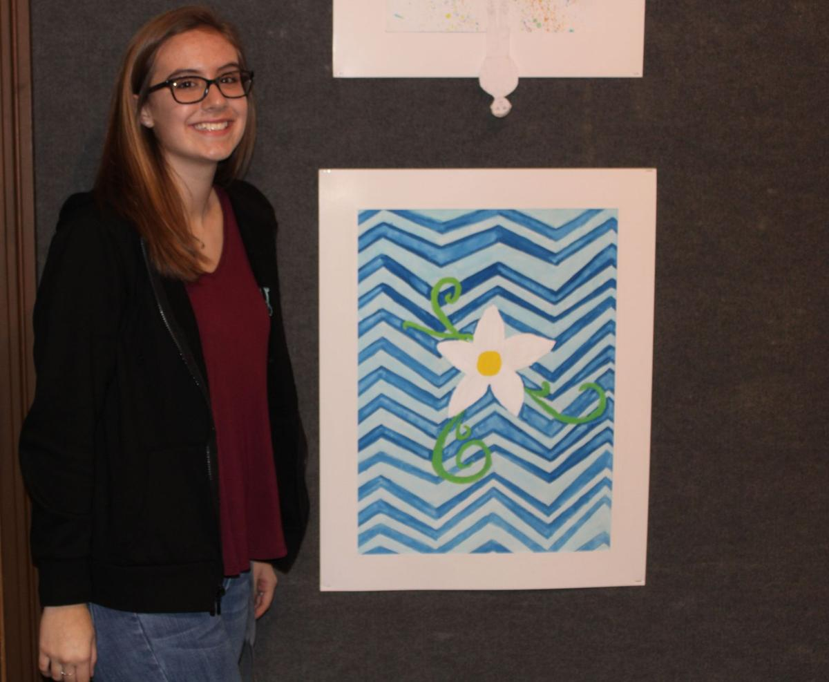 Coosa Middle School art show at Shorter