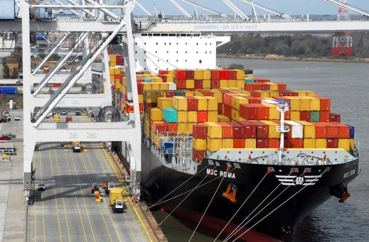 Study: Savannah River has room for Ga , SC to build new port
