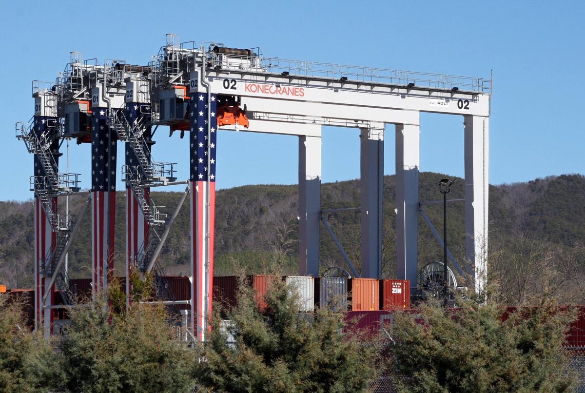 Cranes at Regional Port