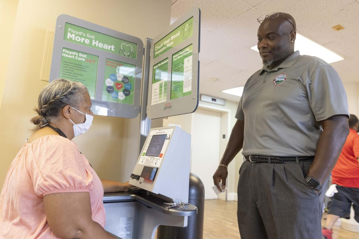 Floyd Medical Center donates blood pressure machines for underserved communities