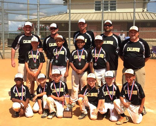 Calhoun Gold finishes second at state tournament