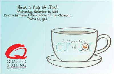 Cup of Joe w Qualified Staffing for November 2019