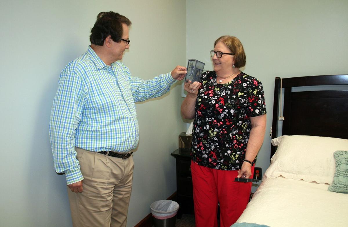 Dr. Bill Naguszewski and Liz Linn