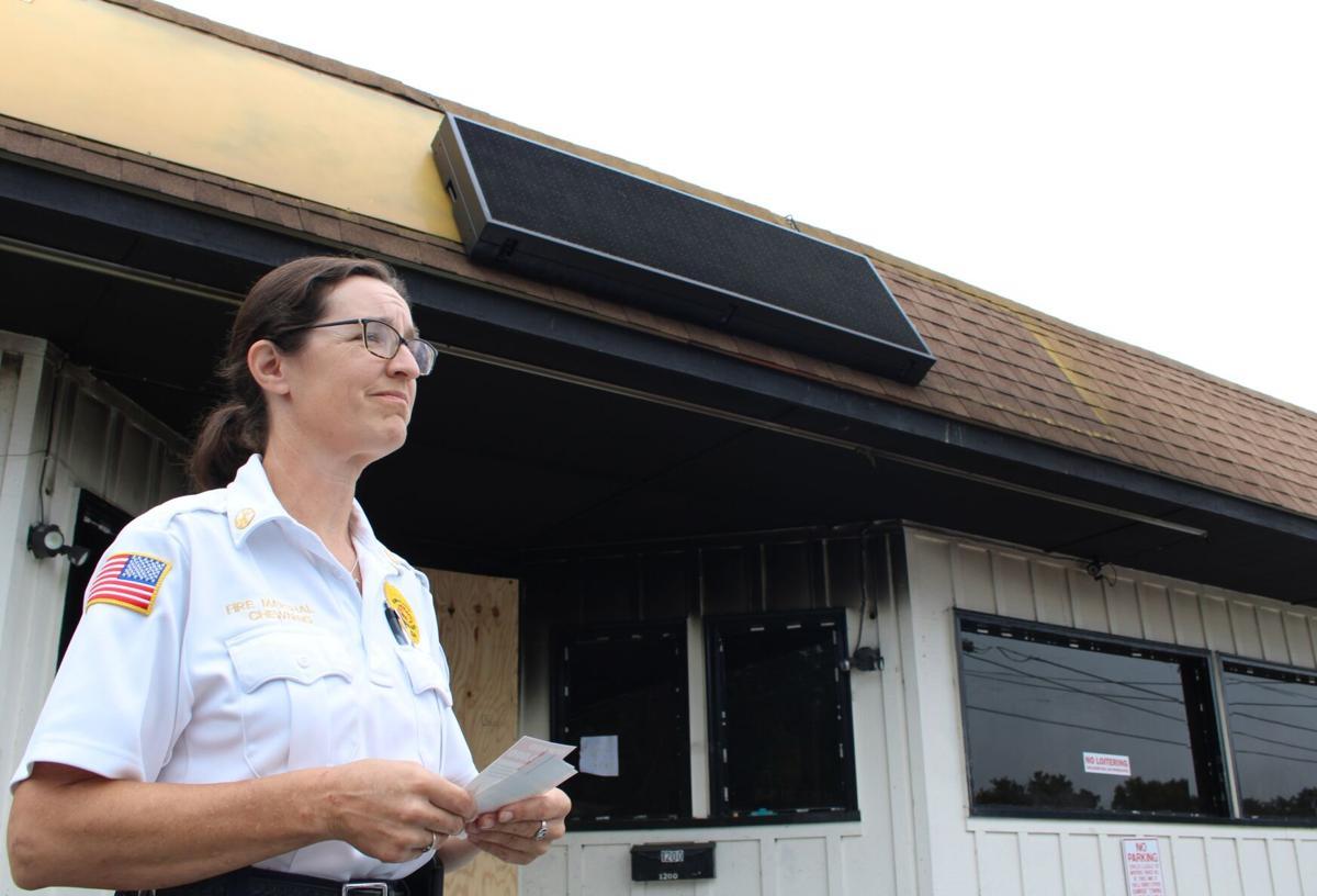 Fire Marshal announces $10,000 reward for information concerning Martha Berry Food Mart arson