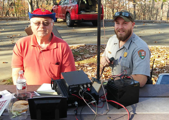 Amateur Radio operators assist the National Park Service