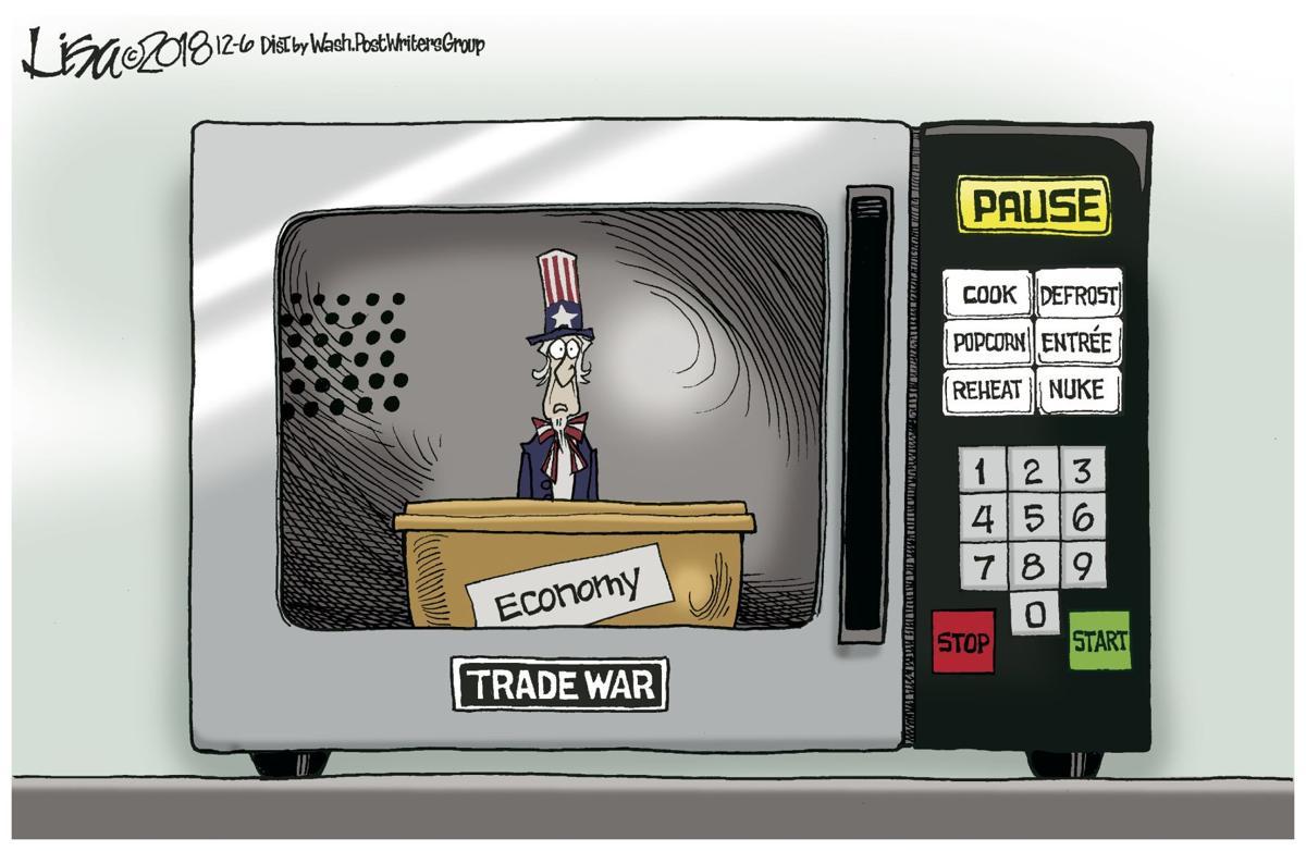 Trade war microwave