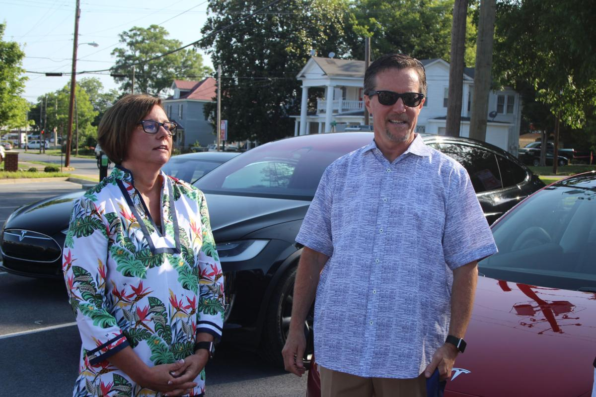 Electric car chargers come to Cedartown