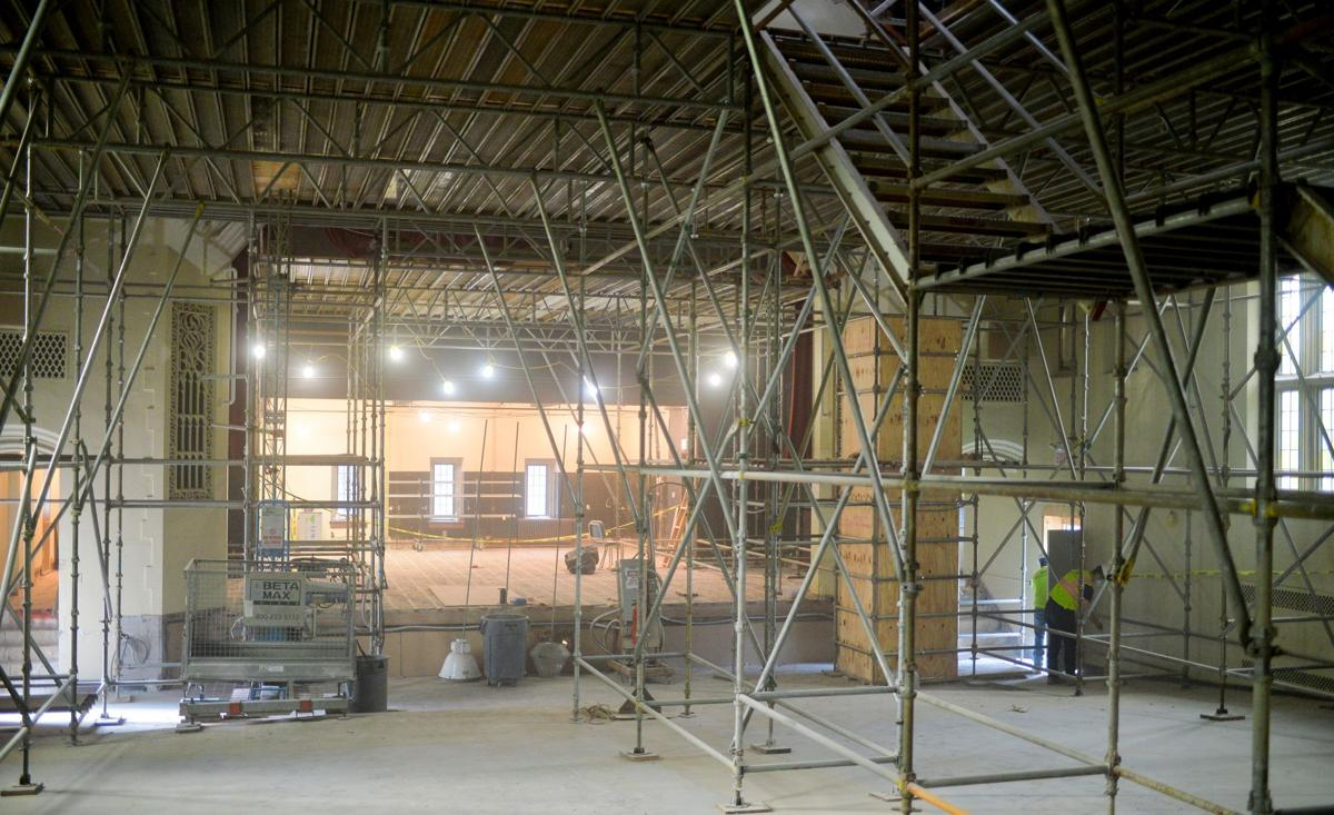 Ford Auditorium renovation