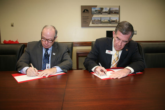 Georgia Northwestern Technical College and Georgia Military College sign articulation agreement