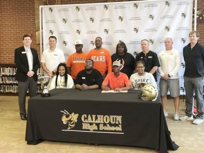 Calhoun's Barton to play at next level with the University of Pikeville