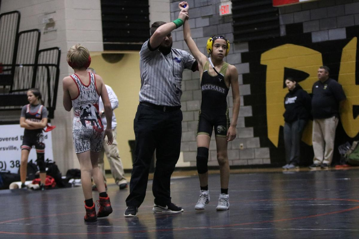Rockmart Middle hosts wresting meet with Cedartown