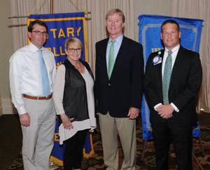 New Seven Hills Rotary Club officers