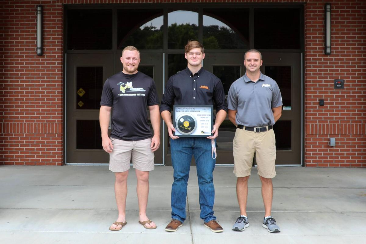 Carson Griffin honored by CHS Track and Field